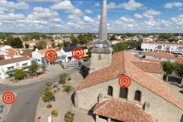 [360°] Saint-Jean-de-Monts : Centre-ville